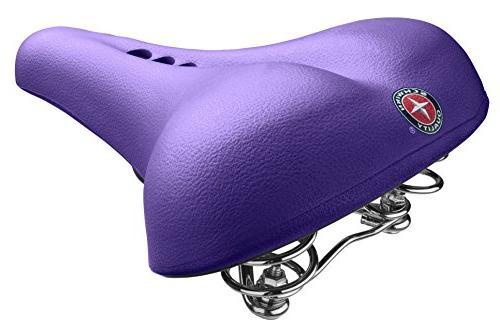 Schwinn Fashion Comfort Seat, Purple
