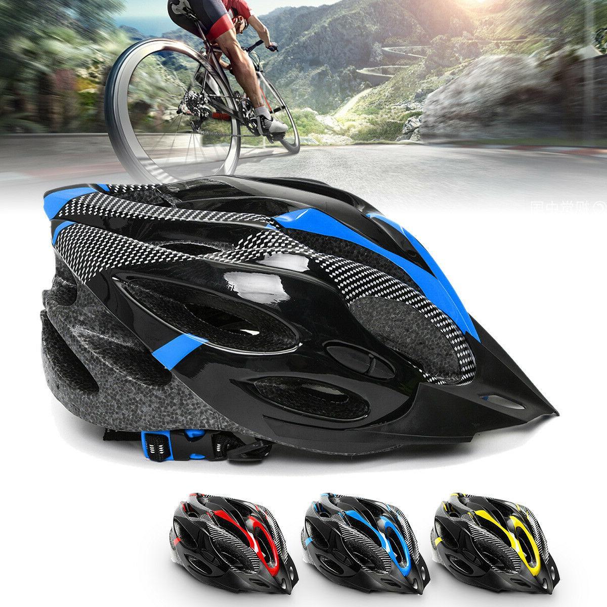 Cycling Bicycle Adult Men Woman Bike Skate Helmet Carbon Adj