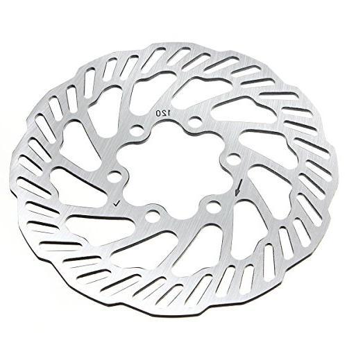Track 7075 Aluminum Alloy Brake Crankset Bolt For Chainwheel M8 Disc Screw