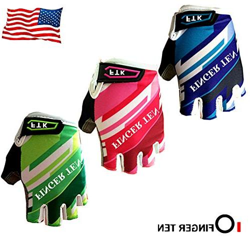cycling gloves padded youth