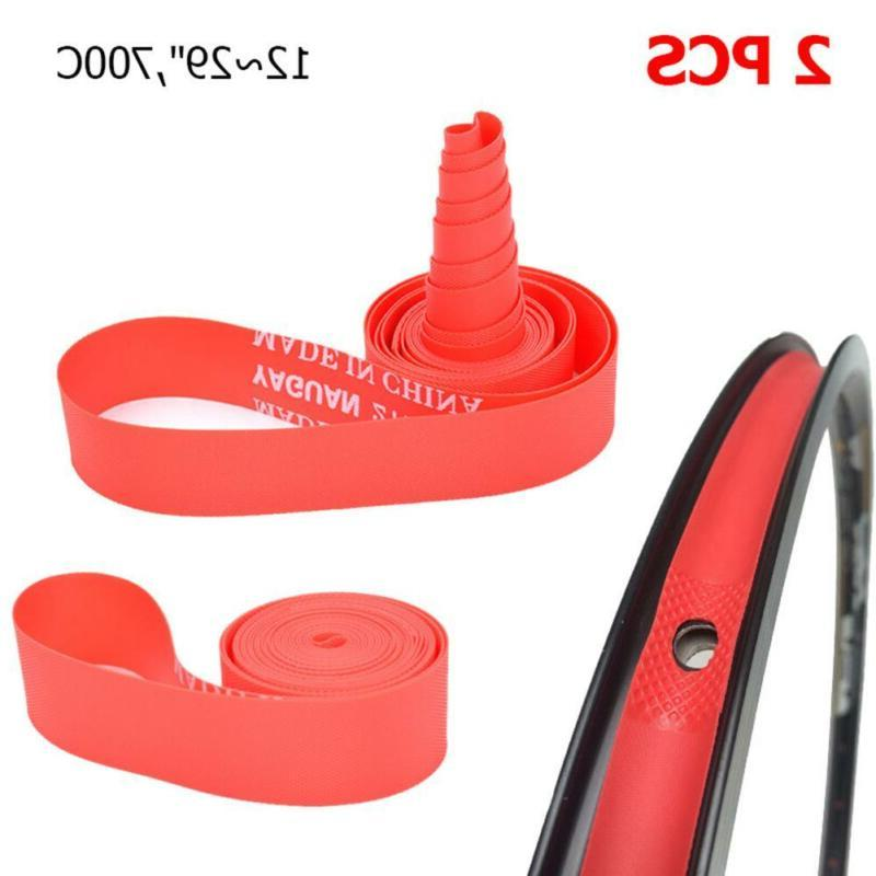 2psc Cycling MTB Road Bike Tire Liner Protection Tube Pad Ri