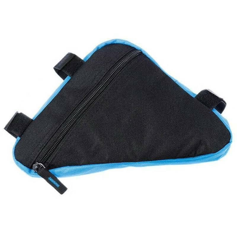 Cycling Road Bicycle Front Tube Zip Storage Small Pouch