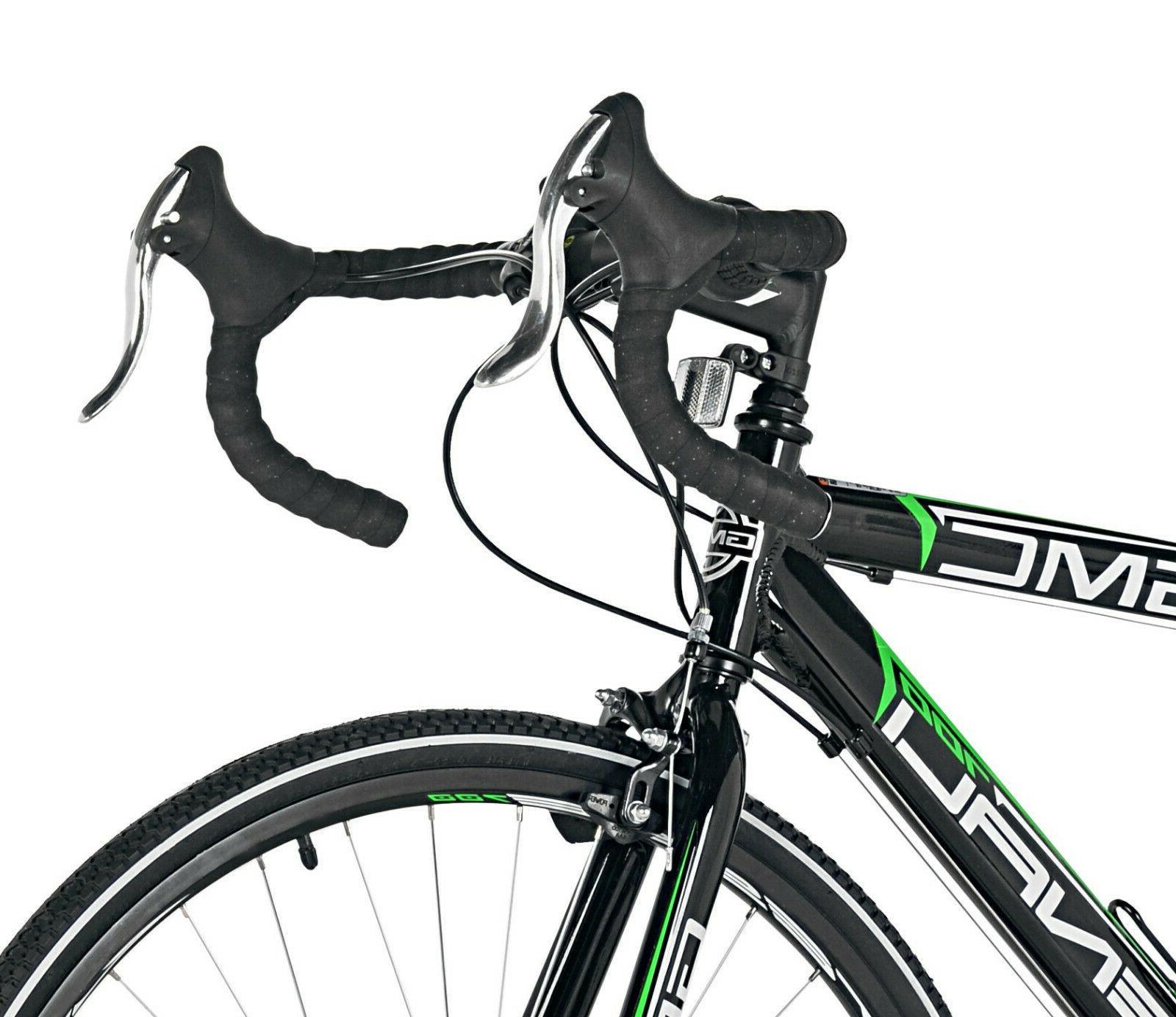 "GMC Denali 19"" Aluminum Frame Adult Road Bike Black Speed Shimano"