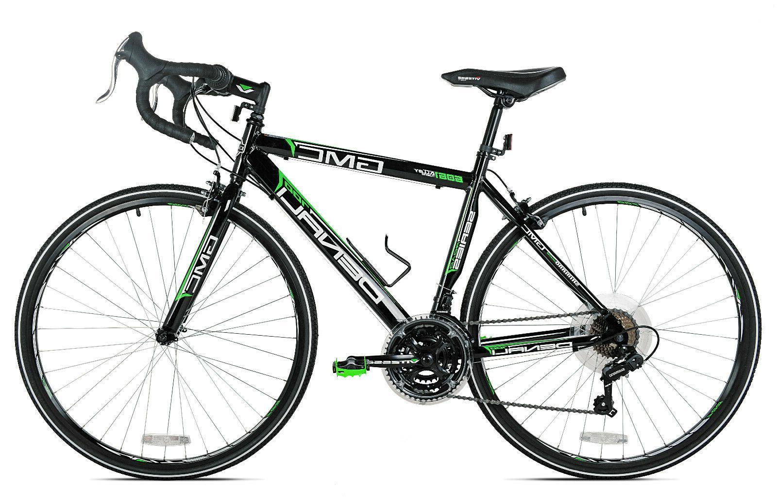 GMC Denali Aluminum Frame Bike Black Green 21 Speed
