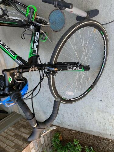 GMC Denali Road Bike, 700c, Black/Green, Medium/57cm Frame