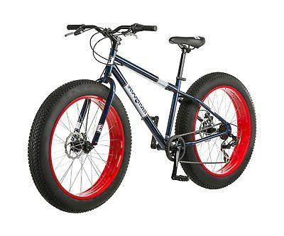 "26"" Mongoose Dolomite 7-speed All-Terrain Mountain Blue/Red"