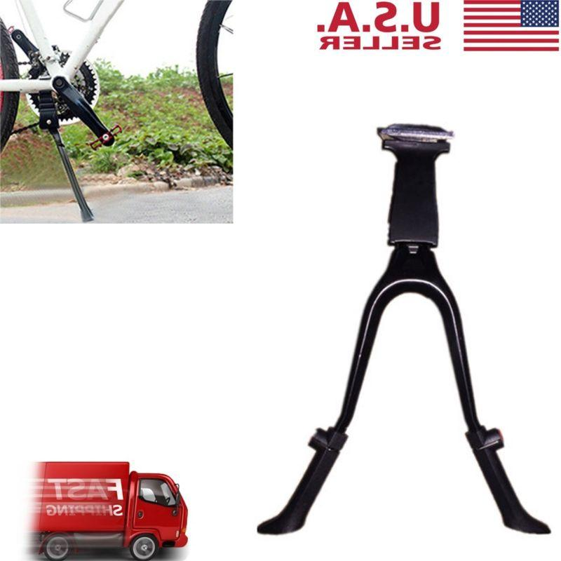 Double Leg Bike Kickstand Foldable Mount Bicycle Stand for B
