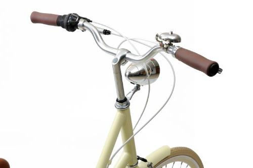 Critical Style Step-Thru Shimano Urban Commuter Cream, Large/44cm