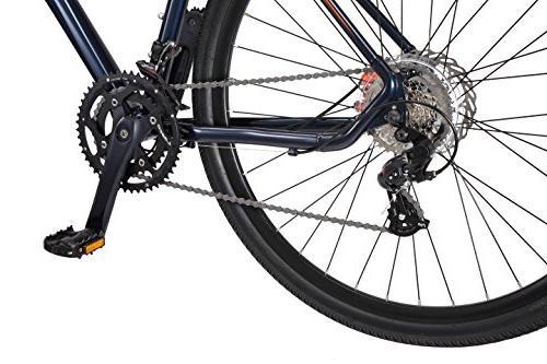 Mongoose Adventure Bike Wheel Blue, frame