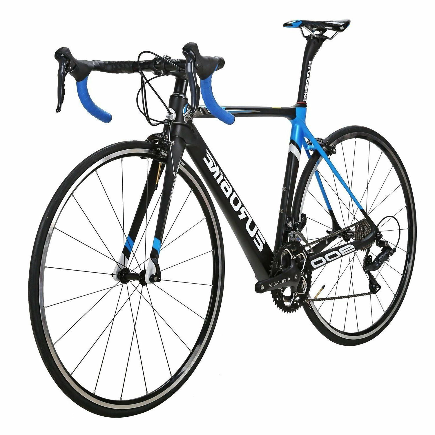 eurobike eu900 carbon frame road bike 18