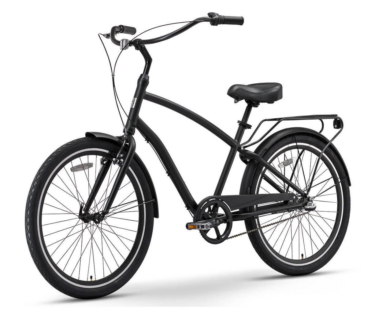 sixthreezero EVRYjourney 3 Speed Hybrid Touring Cruiser Bike
