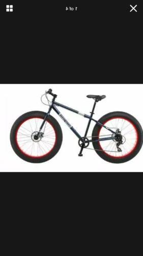 fat tire bike men s black steel