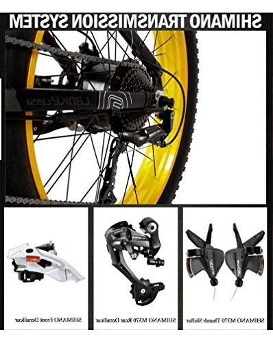 LANKELEISI Fat Folding Bicycle 27 Mountain LCD Dual Disc Brake