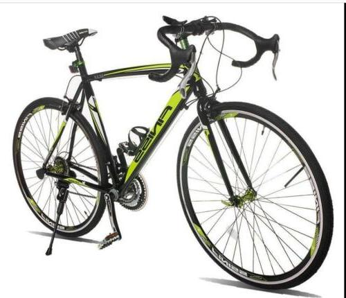 Racing Bicycle 21Speed Shimano Hybrid 700C Lightweight Alumi