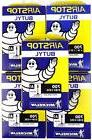 Five Michelin Airstop Butyl Road Bicycle Tubes 700x18-23-25