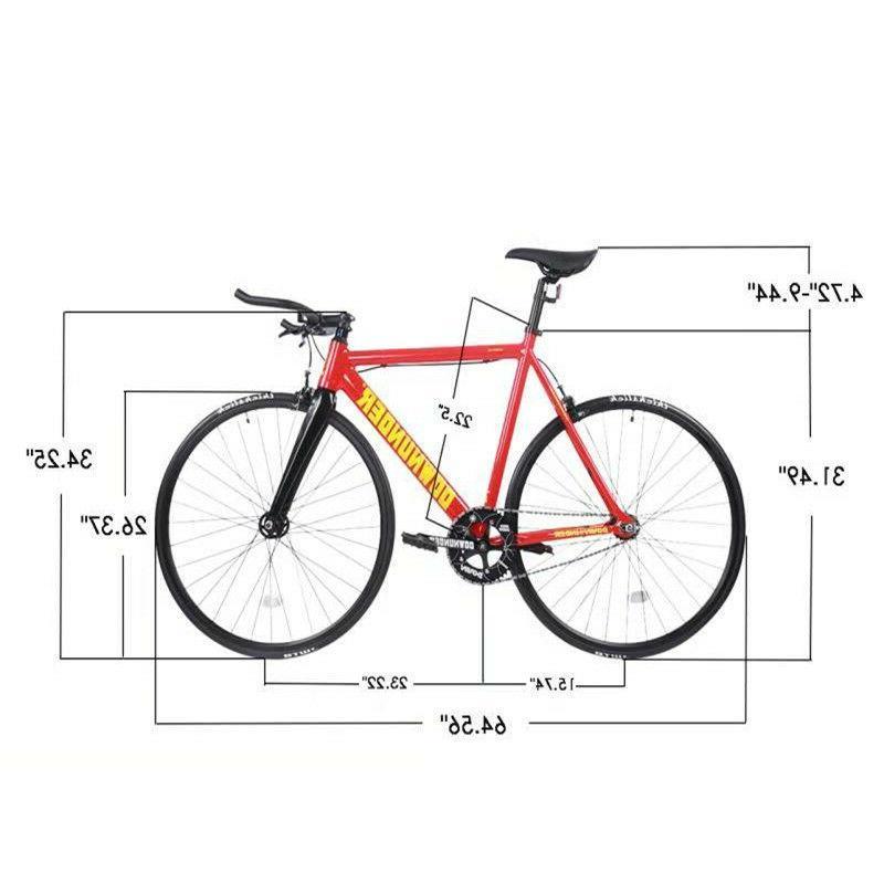 700C Road Bike Fixed Gear Bike Single Speed Front Fork
