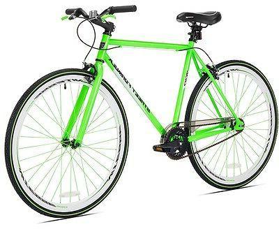 KENT FIXIE BIKE 700C Green Hub Cruiser Bicycle