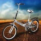 "Folding 20"" School Road Bike 6 Speed Foldable Bicycle Storag"