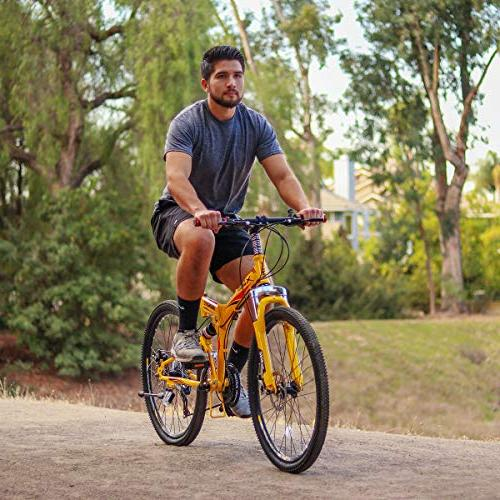 Folding Mountain Bike Trail Commuter