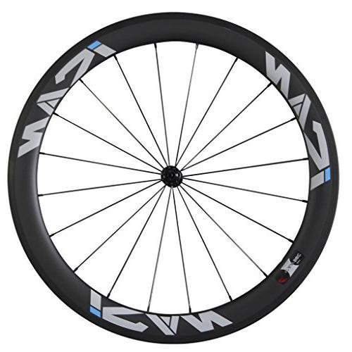 front carbon wheel road bike