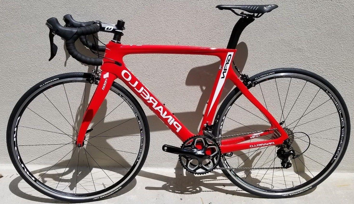 Pinarello Gan 105 Red / White Road Bike - 53cm