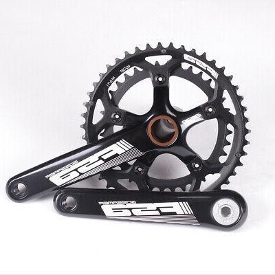 gossamer road bike crankset 386evo 46 36t