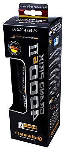 Continental Grand Prix 4000s II Cycling Tire, Black, 700x23