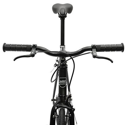 Critical Fixed Bike; 53cm, Black