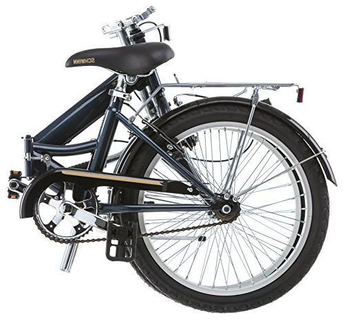 "20"" Schwinn Hinge Unisex Folding Bike,"
