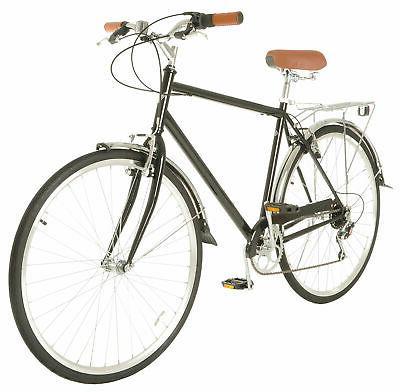 hybrid bike 700c retro city