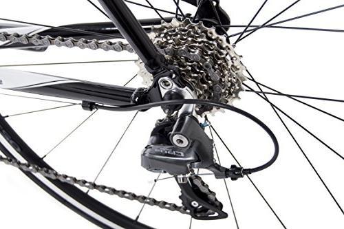 Tommaso Imola Road Shimano Claris R2000, 24 - Black - Large