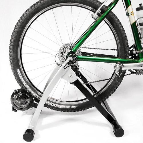 1112 Bike Trainer Portable Indoor Bicycle Exerciser Machine Magnetic Out Cycle