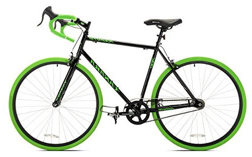 Takara Road Bike, Medium/54cm, Black/Green