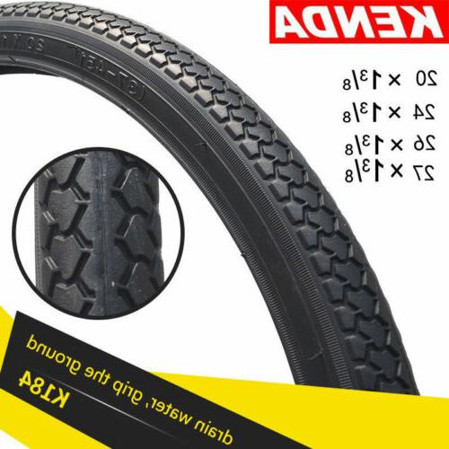 KENDA Bicycle Tire 20/24/26/27 inch*1 3/8 Tires MTB Road Bik
