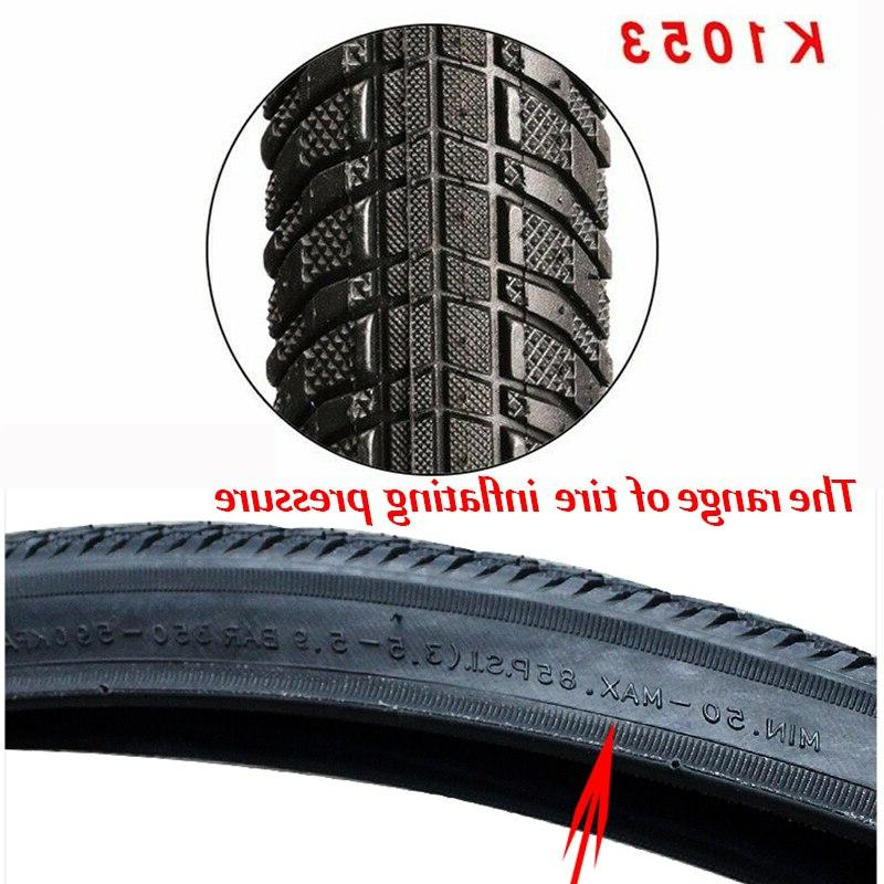 Bicycle <font><b>Road</b></font> <font><b>Bike</b></font> 700C / 32C 35C / Tube 85PSI Bicycle Wheel Tyre Tires K1053