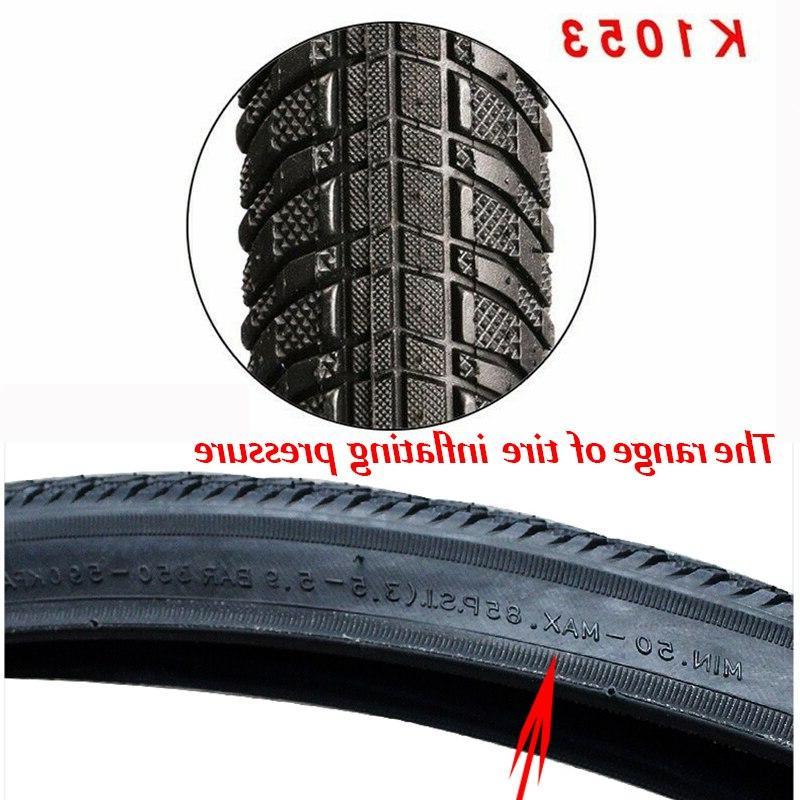 Bicycle <font><b>Road</b></font> <font><b>Bike</b></font> 700C / 32C 35C / Tube 85PSI Bicycle Wheel Tyre Tires K1053