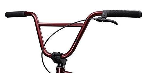 Mongoose L100 Boy's Freestyle Wheels, Burgundy