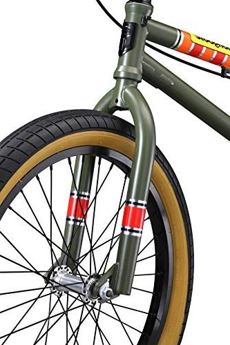 Mongoose L100 Freestyle 20-Inch Wheels, Green