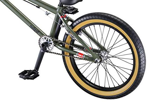 Mongoose Legion Boy's Freestyle BMX 20-Inch