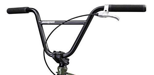 Mongoose Legion L100 Freestyle BMX Bike, Wheels, Green