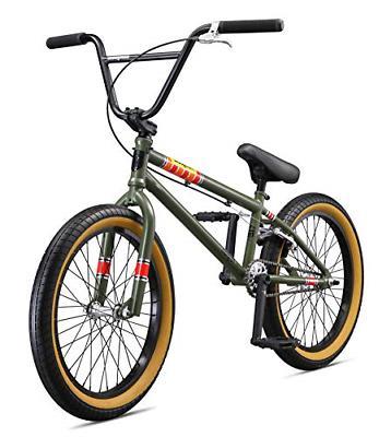 Mongoose Boy's Freestyle Wheels, Green
