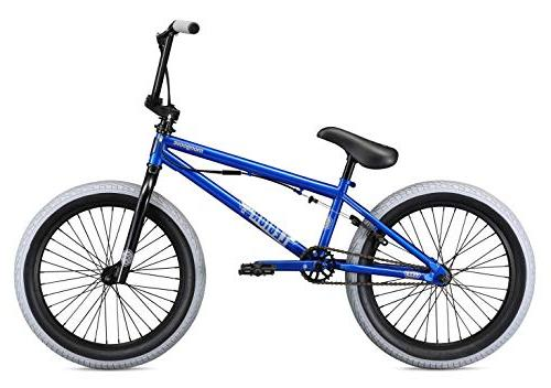 Mongoose Legion L40 Freestyle Bike, 20-Inch Wheels, Blue