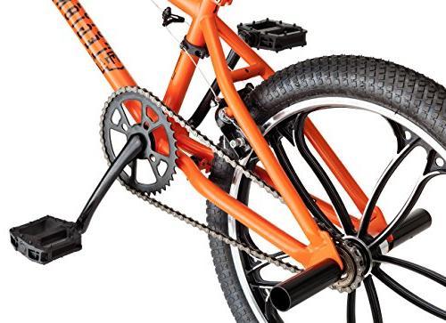 Mongoose Legion Mag BMX 20-Inch Wheels, Orange