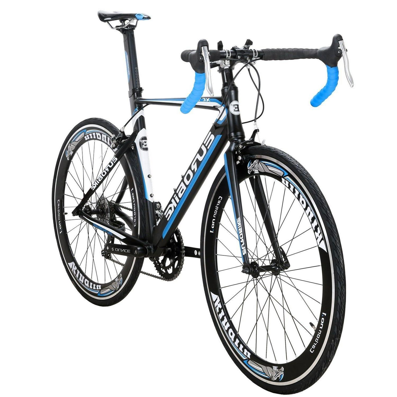 Light Aluminium Road 14 Speed 54cm cycl