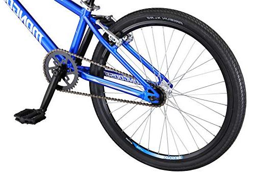 Mongoose Title Freestyle Bike, Blue