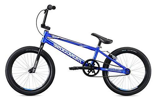 Mongoose Pro XXL BMX Race Bike, Wheels, Blue