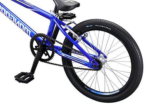 Mongoose BMX Race Bike, 20-Inch Wheels, Blue