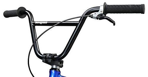 Mongoose BMX 20-Inch Wheels, Blue