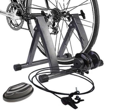 magnetic indoor bike trainer exercise