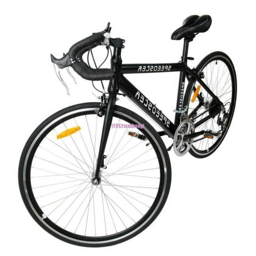 "Medium 54cm 26"" 700Cx21"" Road Bike Racing Bicycle 21 Speed 1"